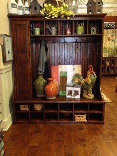 mudroom cabinet