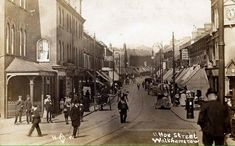 PostCard of Hoe street Walthamstow in 1910Alan Russell (@soxgnasher) on Twitter City Architecture, Ancient Architecture, London Boroughs, London Fields, East End London, Vintage London, Old City, London City, Hoe