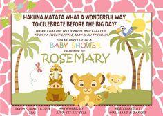 simba lion king baby shower invitations baby simba baby shower digital invitations simba baby