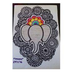 Terminado: 29'11'16 #zentangle #zentanglecondani #zentangleconcolor #zentangleconmigo