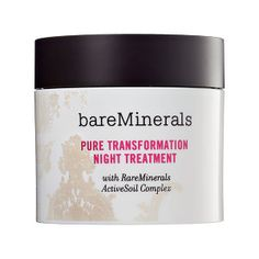 bareMinerals - Pure Transformation Night Treatment I need to try this!
