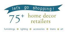 75  home decor retailers