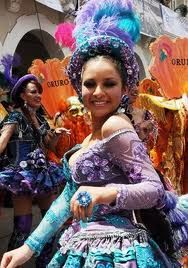 Carnaval de oruro, Bolivia  Morenada
