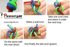three strand matthew walker instructions