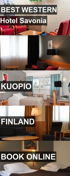 BEST WESTERN Hotel Savonia in Kuopio, Finland. For more information, photos, reviews and best prices please follow the link. #Finland #Kuopio #travel #vacation #hotel