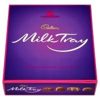 Cadbury Milk Tray Chocolate Box An assortment of delicious individual chocolates all smothered in cadbury milk chocolate - the nations favourite. Cadbury Milk Chocolate, Chocolate Coins, Chocolate Brands, Chocolate Mini Rolls, Galaxy Chocolate Bar, I Love Chocolate
