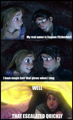 Eugene Fitzherbert... my mom had a classmate in highscool named Biff Diffendorfer. LOL
