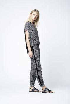 Fabrina top and the Treva pants.  Fashion // clothing // woman // inspiration // www.dante6.com