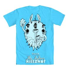 """""""The future killshot"""" t-Shirt from the Shroom T-Shirts collection made by Igor Wnuk"""
