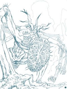 Amygdala(Bloodborne) by yagimudsuki