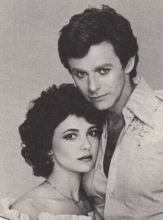 Robert & Holly  -  ABC's General Hospital - 1980s #GH #GH50