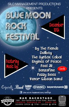 Flyer-Blue-Moon-Festival Event Posters, Moon Rock, Blue Moon, Bee, Feelings, Honey Bees, Full Moon, Bees