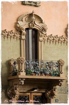 Via Pisacane... Balcony, Milan, Bella, Countries, Beautiful, Windows, Places, Amor, Italia
