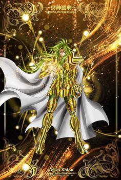 Saint Seiya - The Lost Canvas - Aries Shion
