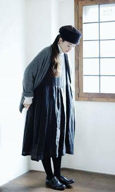たとえばこんな風に着てみる。 | nest Robe PRESS ROOM | nest Robe Shop Blog | ネストローブの公式ショップブログ
