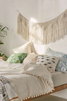 Maryam Macrame Banner - Urban Outfitters