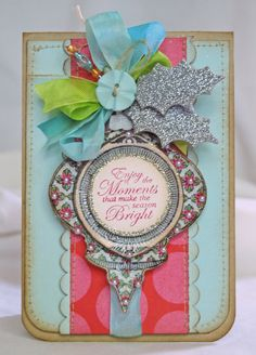 Thoughts of a Cardmaking Scrapbooker!: Merry And Bright!