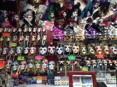 Mask shop, New Orleans