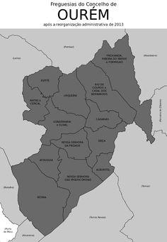 Freguesias do concelho de Ourém