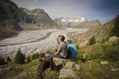 Feel free and enjoy blissful moments at the great glacier in the Aletsch Arena Enjoy The Silence, Alps, Perfect Place, In This Moment, Mountains, Feelings, Day, Places, Free