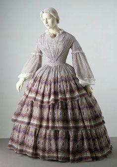 Day dress  c.1840