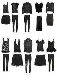 black clothing - Google Search