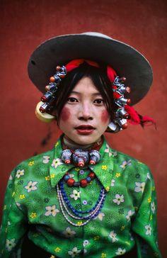 culturalcrosspollination: Tibetan woman
