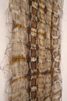 Fabric of the Building   alice fox Natural dye, hand stitch