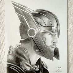 Spiderman Sketches, Superhero Sketches, Avengers Drawings, Spiderman Art, Thor Drawing, Iron Man Drawing, Amazing Drawings, Cool Drawings, Pencil Drawings