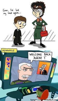 Harry Potter meets Phineas and Ferb :D