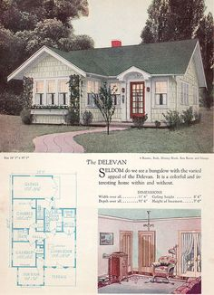 1928 Home Builders Catalog -       The Delevan