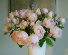 Roses in Gardens: Heritage Rose Bouquet