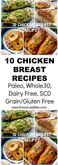 Top 10 Chicken Breast Recipes