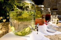 Delicious beverage station at The Perry House, https://eventsbyclassic.com