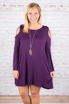 Heart Strings Tunic, Purple