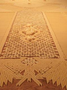 pasta carpet!