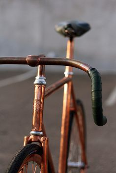 Les vélos vintage reviennent à la mode! #COPPER #BIKE