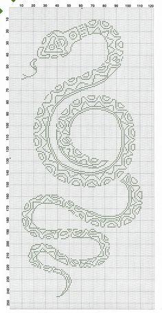 Вышиваем змею. Обсуждение на LiveInternet - Российский Сервис Онлайн-Дневников