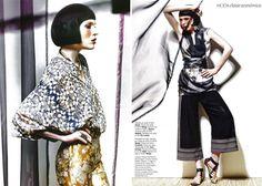 Gesche for Vogue Portugal, March 2013 ; Brisa Do Oriente