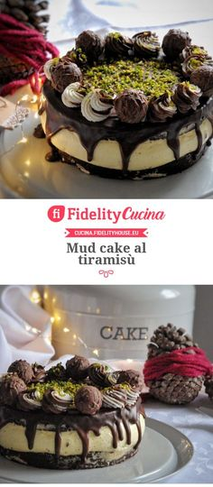 Mud cake al tiramisù