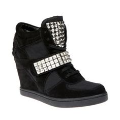 Love these!!! Can't wait to wear them!!! Steve Madden Hamlit wedge sneakers