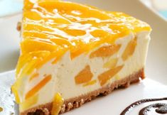 Baked Mango Cheesecake Recipe- Learn how to make Baked Mango Cheesecake step by step on Times Food. Find all ingredients and method to cook Baked Mango Cheesecake along with preparation & cooking time. Peach Cheesecake, Nutella Cheesecake, Cheesecake Cake, Strawberry Cheesecake, Cheesecake Factory Recipes, Fig Cake, Mango Cake, Peach Cake, Mango Recipes