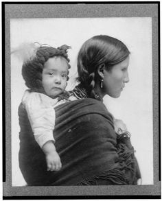 Native American Woman c. 1910 While my friend was resting in between…: