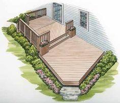 2 level deck | visit builderhouseplans com