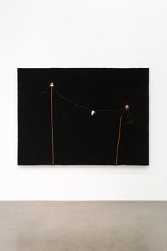 Pier Paolo Calzolari Untitled, 1990 Salt burned, dyes, copper, gold, nuts, nipples oil, lead, paper, graphite