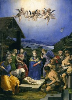 Bronzino - Adoration of the Shepherds