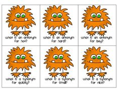 Free! Monster Madness Synonyms & Antonyms printable! 12 synonyms and 12 antonyms.