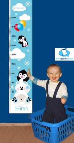 ♥ niedliche Kindermesslatten - individualisiert mit Foto & Geburtsdaten