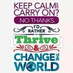Let's change the WORLD 2 GETHER  one THRIVER at a TIME  http://Passion2Thrive.le-vel.com