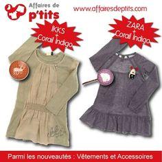 Associer nos vêtements avec les accessoires Corail Indigo ... C'est à vous ! :)    http://www.affairesdeptits.com/4-ans/5966-robe-double.html  http://www.affairesdeptits.com/4-ans/5967-tunique-robe-doudou.html  http://www.affairesdeptits.com/112_corail-indigo